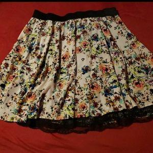 Floral Skirt XL